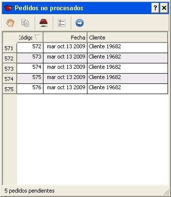 Cestas y comandos de instrucción de Velneo V7 7.2 3